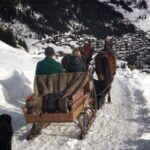 horse and sleigh ride verbier